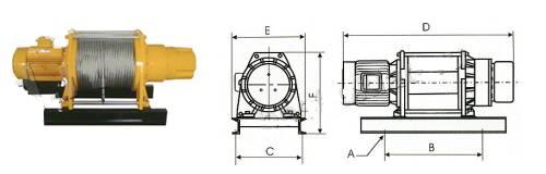 Лебедка предназначена для подъема и/или перемещения грузов