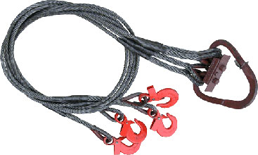 Канатные стропы удобно использовать для подъема и перемещения различных типов грузов у которых есть специальные кольца, петли или отверстия для захвата.